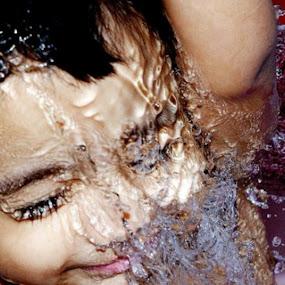 Splashhhh by S Nair - Babies & Children Babies ( baby, babies, cute baby, cute )