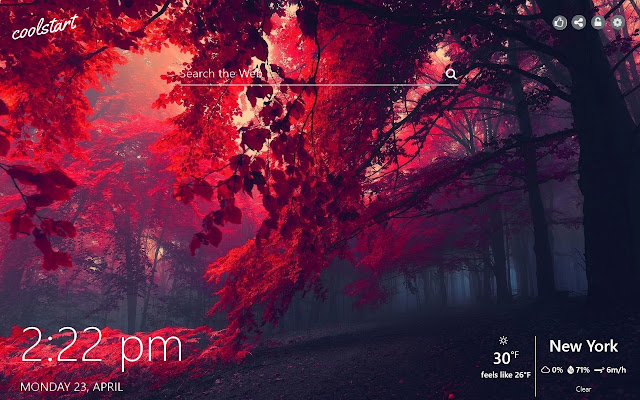 Red HD Wallpapers Colors New Tab Theme