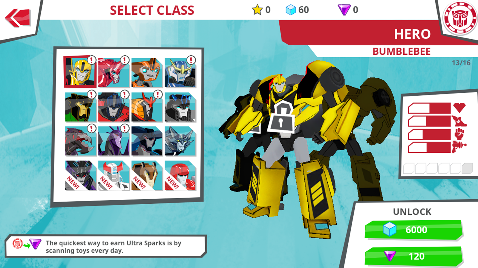 Transformers: RobotsInDisguise- screenshot