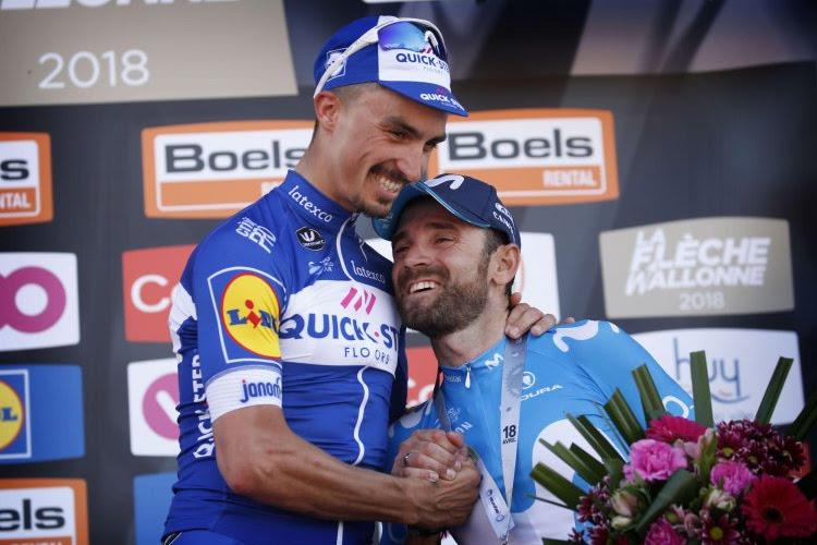 'De nieuwe Valverde is opgestaan' en 'Quick-Step Floors trekt de lijn gewoon door'