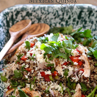 Fresh Mexican Quinoa Salad