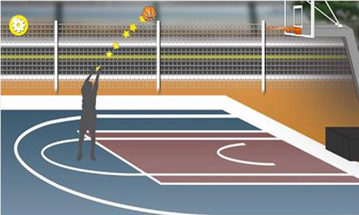 쉽고 재밌는 농구 게임 - 자유투모드 3점슛모드