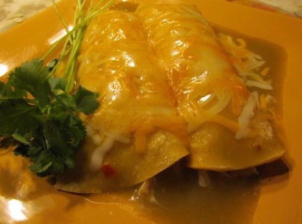 Scrumptious Turkey Enchiladas Recipe