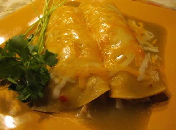 Scrumptious Turkey Enchiladas Recipe