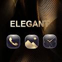 Elegant gold for Huawei icon