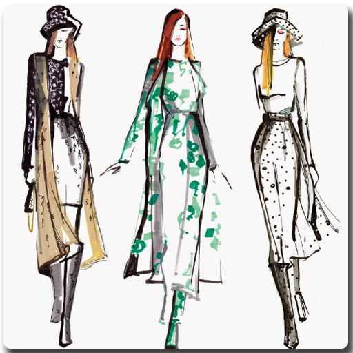Drawing Fashion Girl (app)