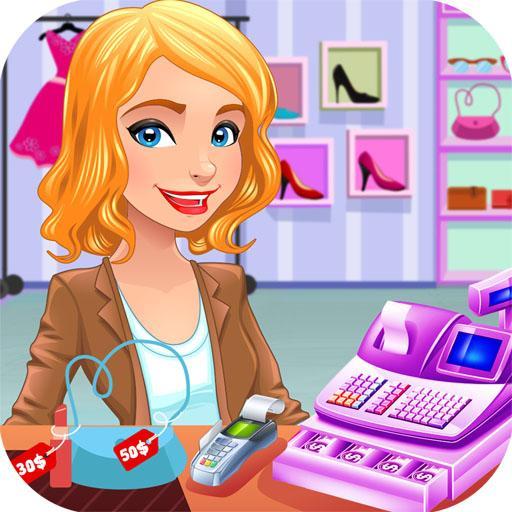 Super Shopping Mall Girls: Cashier Games