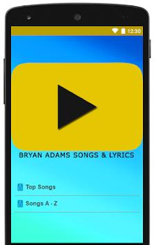 Download Best Of Bryan Adams Songs Lyrics APK latest version