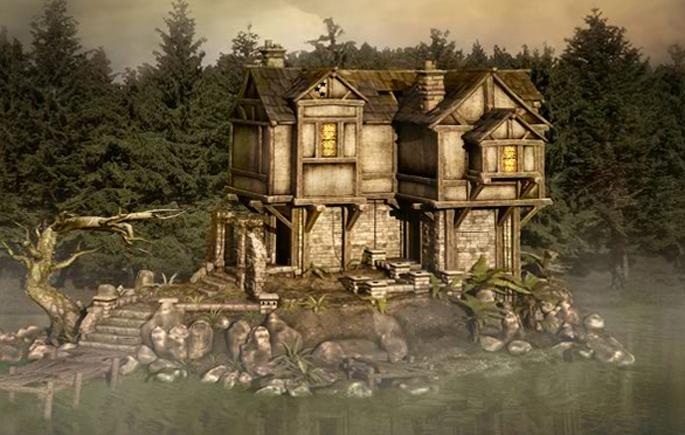 Escape Games Forest Lake house- screenshot
