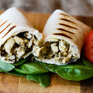Chicken Pesto Wrap Recipes