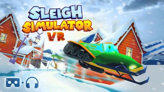 VR Sleigh Simulator Cardboard v1.0