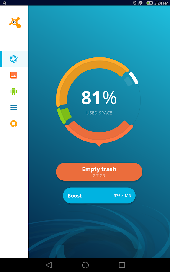 avast cleaner for android
