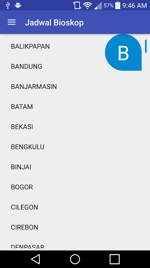 Jadwal Bioskop- screenshot