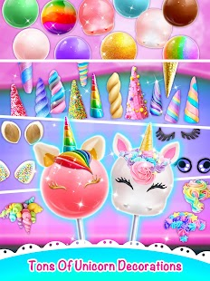 Unicorn Cake Pop Maker - Sweet Fashion Desserts - náhled