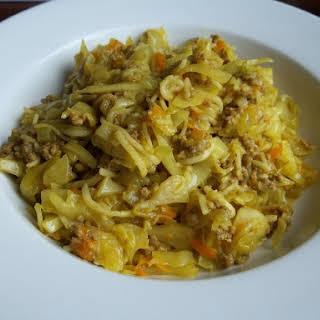 Savoury Curry Mince.