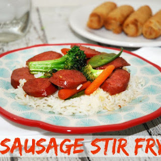 Easy Sausage Stir Fry