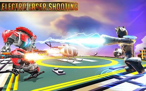 Iron Laser Robots: Future Fighting Shooting Bots - náhled