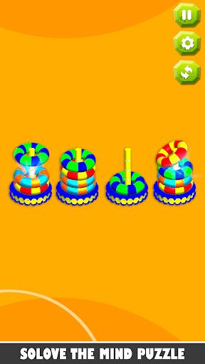 Bubble sort it games 3d-Hoop stacks new games 2020 android2mod screenshots 9