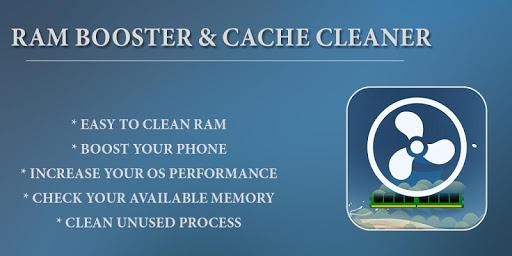 Ram Booster & Cache Cleaner  screenshots 1