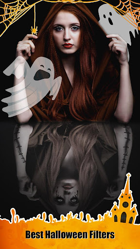 Halloween Photo Editor - Scary Makeup