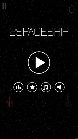android Two space ship Screenshot 2