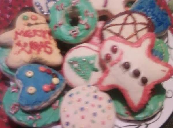 Great Grandma Smielewski White Cookies