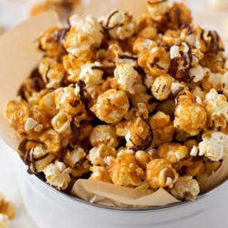 Peanut Butter Caramel Crunch Popcorn.