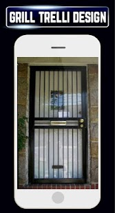 Home Grill Window Trellis Metal Door Design Ideas - náhled