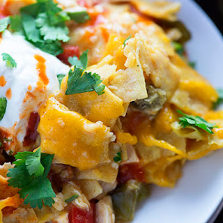 Cheese Chicken Mexican Casserole Recipes