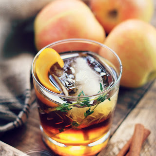 """Aberdeen Apple Crush"" Cider + Bourbon Cocktail"