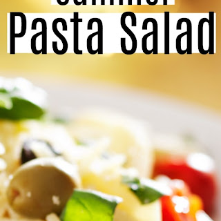 Low Carb Summer Pasta Salad.