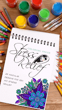 Stress Relief Coloring Pages screenshot thumbnail