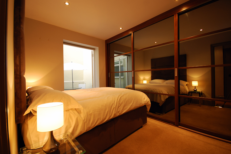 Bedroom at Cleveland Street Serviced Apartments, Fitzrovia