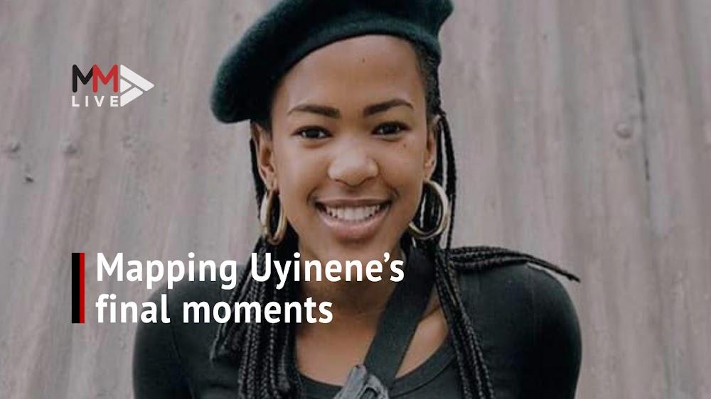 Uyinene se vermeende moordenaar het twee dae na haar verdwyning 'CCTV-beeldmateriaal nagegaan' - TimesLIVE