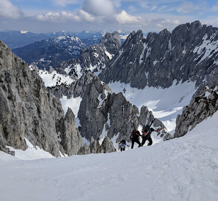 Wilder Kaiser weekend skitour - Apr 19
