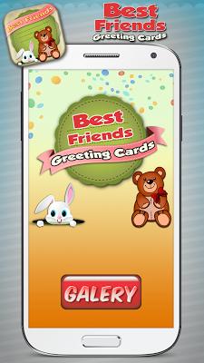 Best Friends Greeting Cards - screenshot