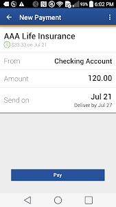 NCPD FCU Mobile Banking screenshot 3