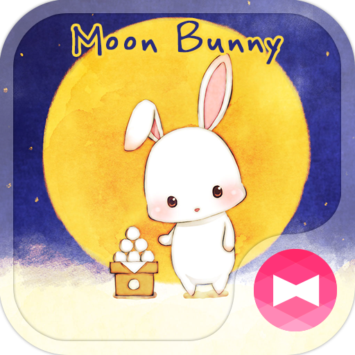 Moon Bunny +HOME Theme Icon
