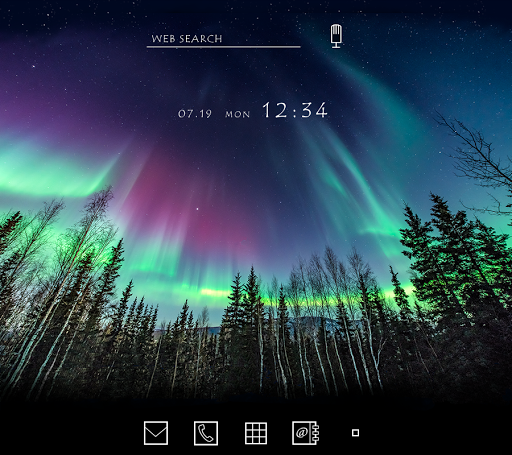 Beautiful Wallpaper AuroraTheme for PC