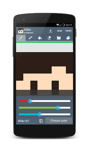 Skin Editor for Minecraft screenshot 6