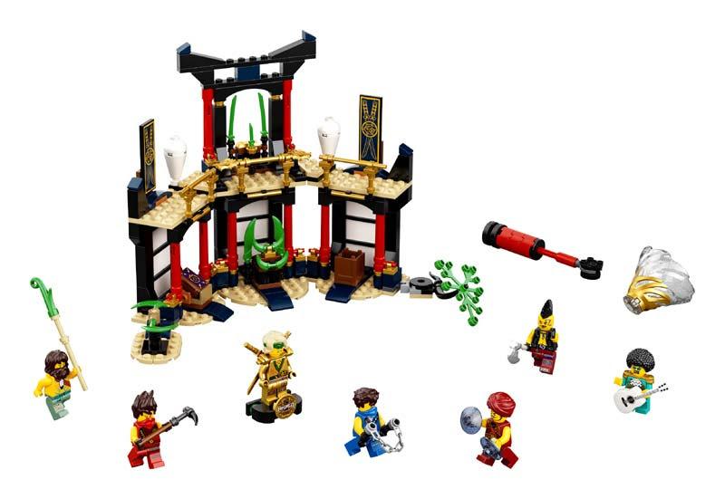 Contenido de Lego® 71735 Torneo de los Elementos