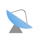 Elevation and azimuth icon