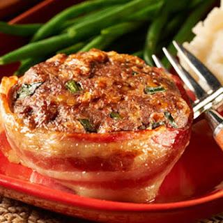 Make-Ahead Cheesy Bacon Mini Meatloaves