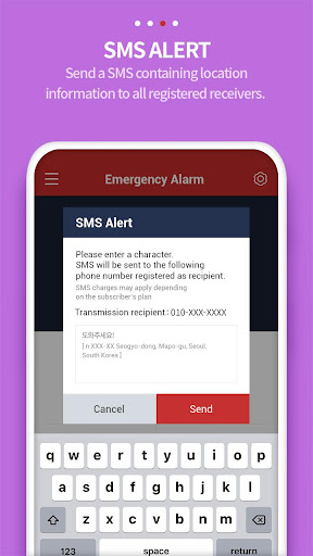 Smart Emergency Alarm - User screenshot 1