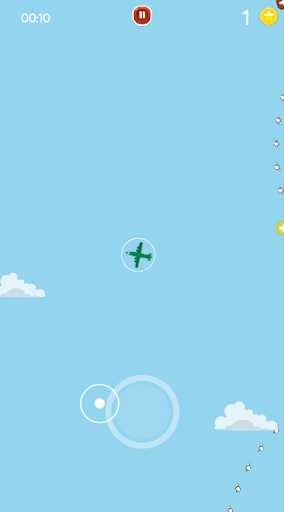Go Fight Plane - Escape Missiles Attack! 2.0 screenshots 5
