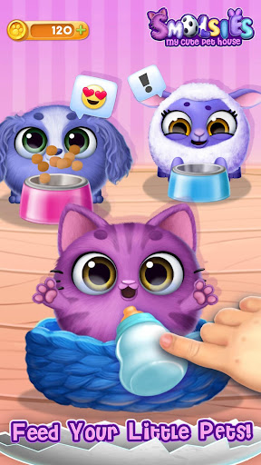 Smolsies - My Cute Pet House android2mod screenshots 6