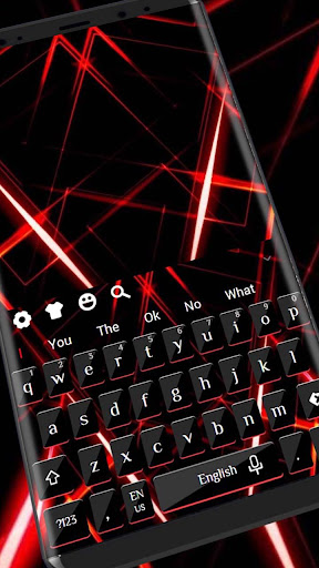 Red Laser Threads Keyboard 10001004 screenshots 1