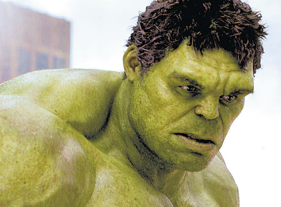 Obese Marvel Characters - Hulk