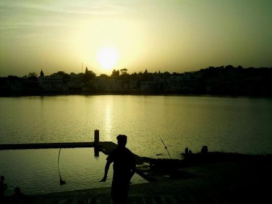 Sunset point Puskar, India di frafrafra