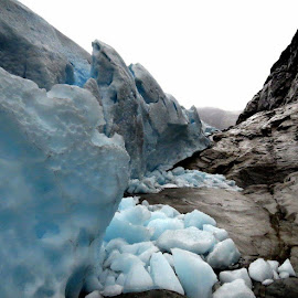 This is Nigardsbreen in Jostedalen by Hiking Viking - Nature Up Close Other Natural Objects